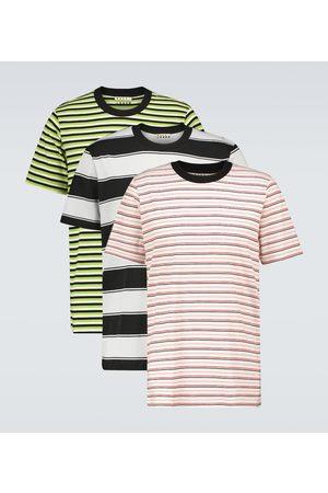 Marni Pack of three striped T-shirts