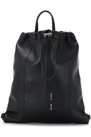 KARA Women Rucksacks - Crystal fringe drawstring backpack
