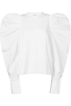 J.W.Anderson Men Long sleeves - Ruched Long Sleeve Top