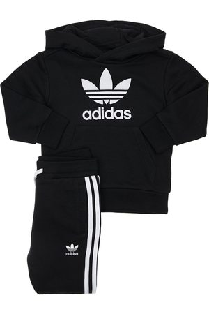 adidas Cotton Blend Sweatshirt & Sweatpants