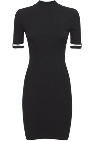 Jacquemus Women Party Dresses - La Robe Torre Knit Mini Dress
