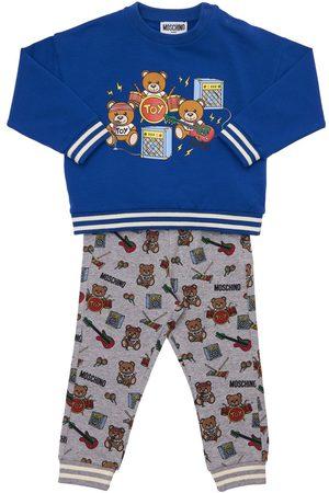 Moschino Toy Music Cotton Sweatshirt & Sweatpants