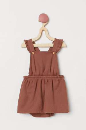 H&M Cotton Overall Dress