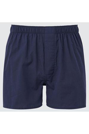 UNIQLO Men's Woven Broadcloth Boxers, , S