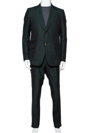 Gucci Bottle Wool & Mohair Suit XL