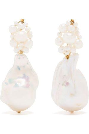 COMPLETEDWORKS Women Earrings - TRA-LA-LA pearl earrings