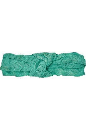 Missoni Knotted Crochet Knit Headband