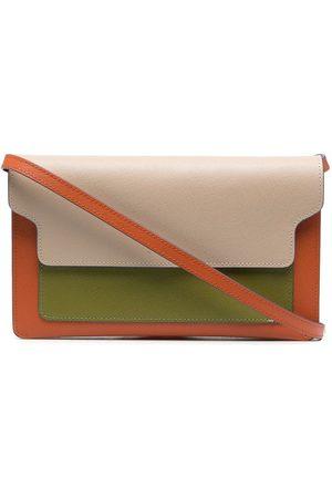 Marni Women Clutches - Colour-block leather clutch