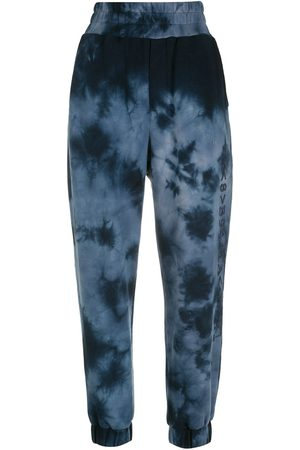 Andrea Bogosian Tie-dye high-waisted trousers