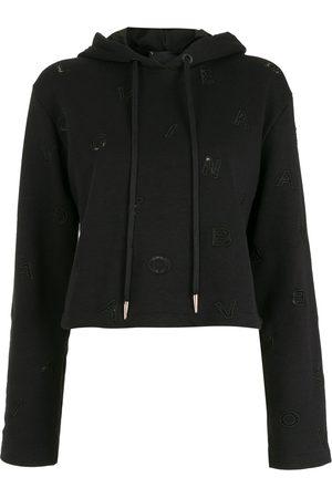 Andrea Bogosian Women Hoodies - Drawstring pullover hoodie