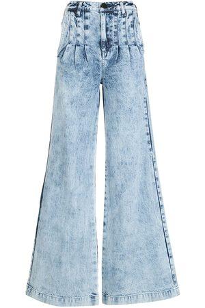 Andrea Bogosian Women Wide Leg - Wide-leg denim jeans