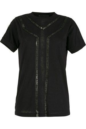 Andrea Bogosian Women T-shirts - Lace-insert T-shirt