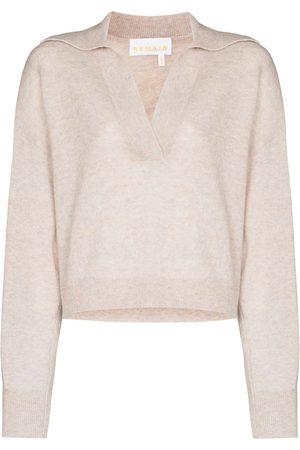 REMAIN Patty wool jumper - Neutrals