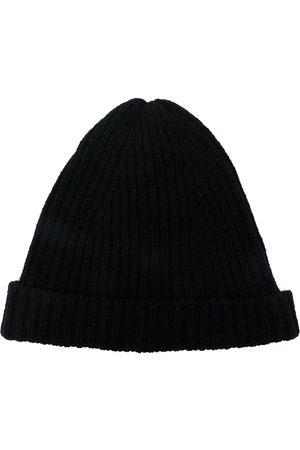 Rick Owens Men Beanies - Ribbed beanie hat