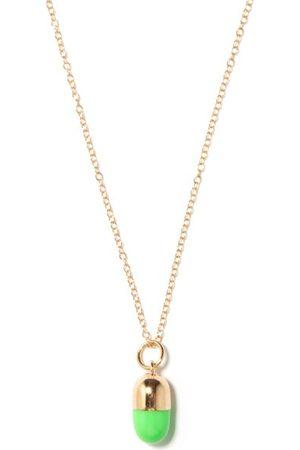 Alison Lou Pill 14kt Necklace - Womens