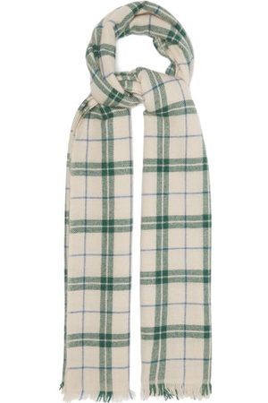 Isabel Marant Dash Check Wool-blend Scarf - Womens