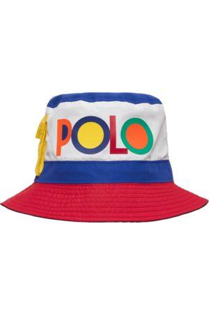 Polo Ralph Lauren Reversible color-blocked bucket hat COLLECTION NAVY MULTI S/M