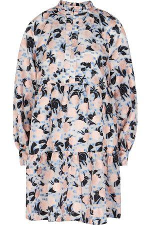 Stine Goya Jasmine floral-brocade organza mini dress