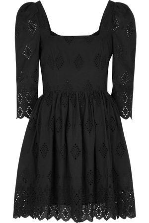 CARA CARA Women Party Dresses - Hart embroidered cotton mini dress