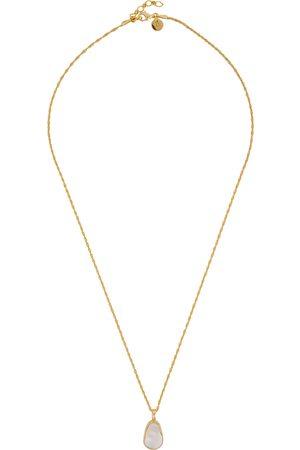 Daisy London Isla 18kt -plated necklace