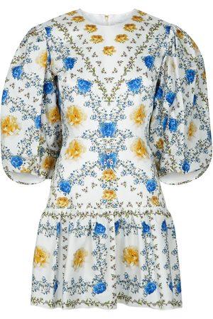 Borgo de Nor Tabi floral-print cotton mini dress