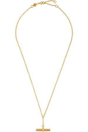 Daisy London X Estée Lalonde 18kt -plated necklace