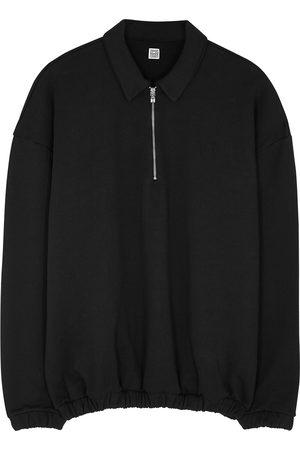Totême Half-zip cotton sweatshirt