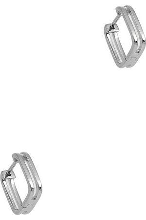 Daisy London Rupi sterling hoop earrings