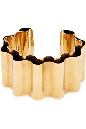 Jil Sander Wave -tone bracelet