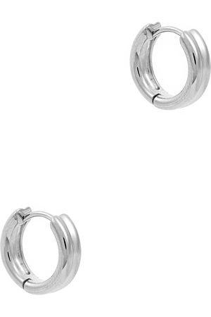 Daisy London Meryl sterling hoop earrings