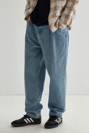 BDG Baggy Pleated Jean - Light Wash
