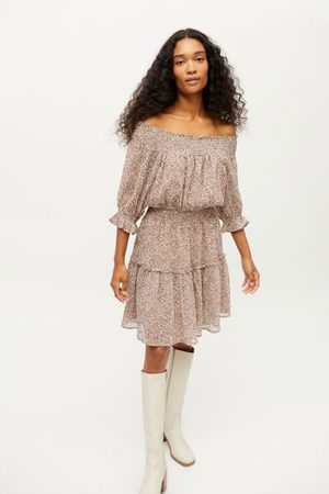 Dress Forum Women Strapless Dresses - Michelle Off-The-Shoulder Mini Dress