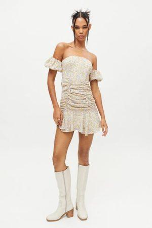 Kiss The Sky Ella Off-The-Shoulder Mini Dress