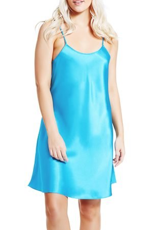 MansiCollections Women's Satin Chemise