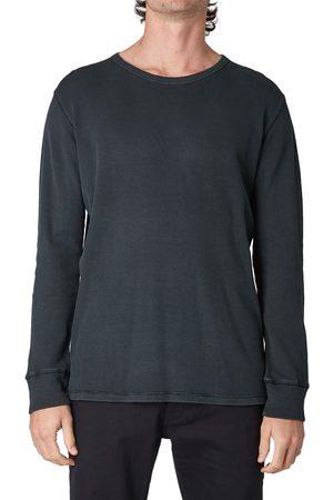 NEUW Men Long Sleeve - Men's Waffle Knit Long Sleeve T-Shirt