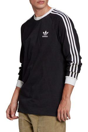 adidas Men Long Sleeve - Men's 3-Stripes Long Sleeve Graphic Tee