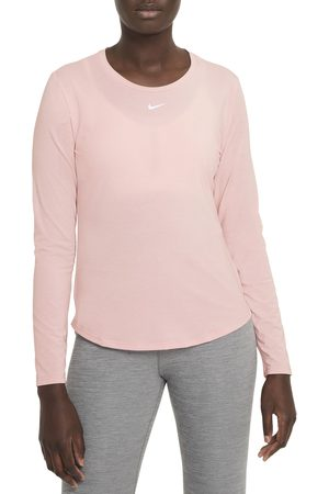 Nike Women Long Sleeve - Women's One Luxe Dri-Fit Long Sleeve Top