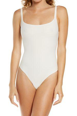 SKIMS Women's Fits Everybody Square Neck Sleeveless Bodysuit