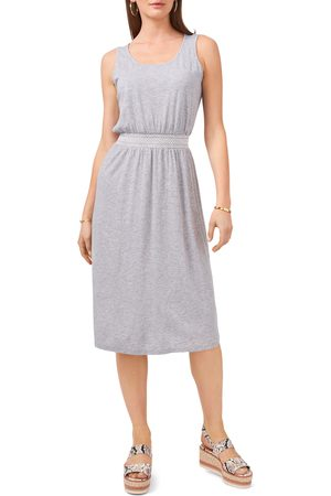 Vince Camuto Women Sleeveless Dresses - Women's Embroidery Waist Sleeveless Cotton & Modal Dress