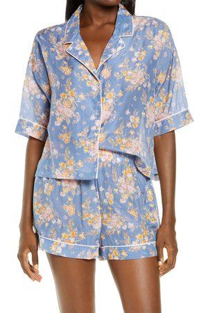 Papinelle Women Pajamas - Women's Loulou Floral Print Short Pajamas