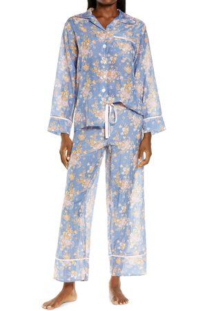 Papinelle Women's Lolou Floral Cotton & Silk Pajamas