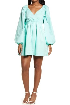 Lulus Women's So Excited Long Sleeve Minidress