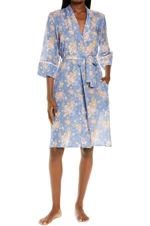 Papinelle Women's Loulou Floral Cotton & Silk Robe