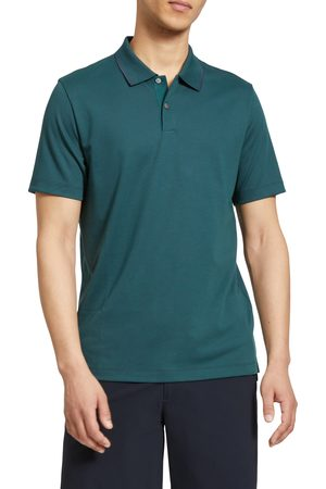 Theory Men's Standard Short Sleeve Knit Polo