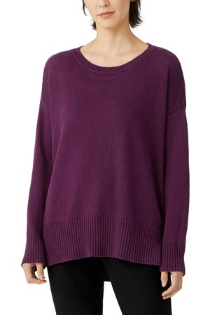 Eileen Fisher Women's Organic Cotton & Linen Tunic Sweater