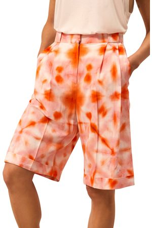 River Island Women's Tie Dye Bermuda Shorts