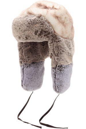 Kangol Patchwork Faux Fur Trapper Hat