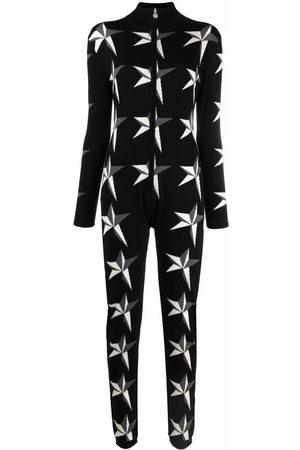 Perfect Moment Women Jumpsuits - Star-intarsia jumpsuit