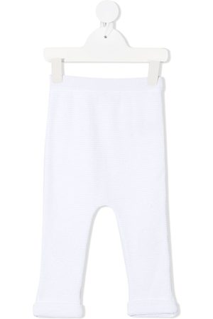 Moncler Enfant Chinos - Logo patch trousers
