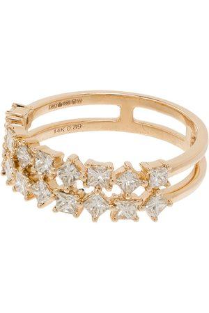 Dana Rebecca Designs 14kt yellow Millie Ryan diamond ring